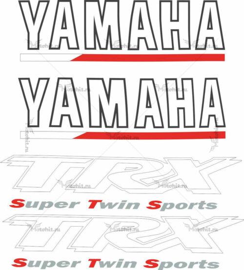 Комплект наклеек Yamaha TRX-850