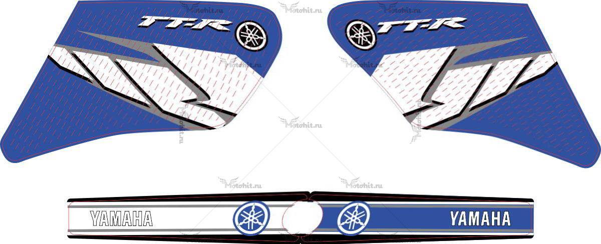 Комплект наклеек Yamaha TTR-250