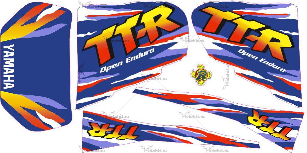 Комплект наклеек Yamaha TTR-250 1998