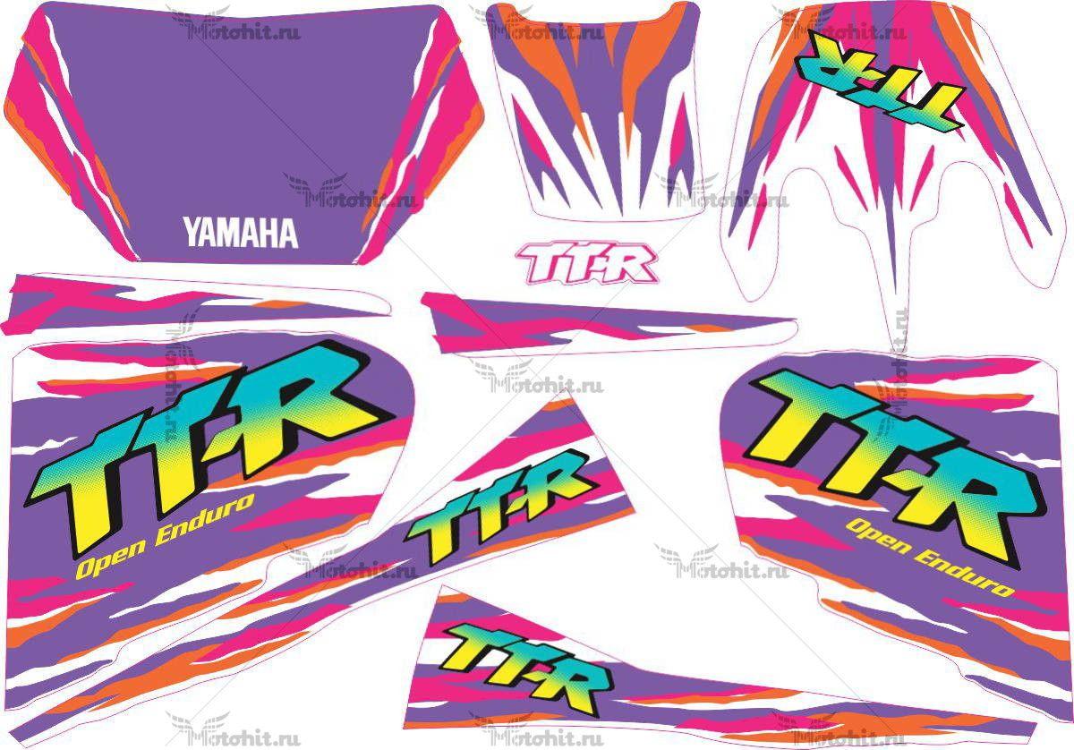 Комплект наклеек Yamaha TTR-250 1998-V