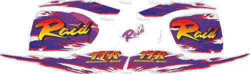 Комплект наклеек Yamaha TTR-250 2007