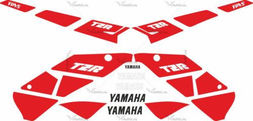 Комплект наклеек Yamaha TZR-125 1990