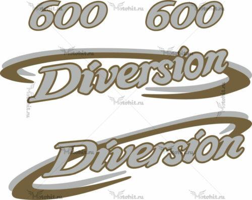 Комплект наклеек Yamaha XJ-600-S-1998-DIVERSION