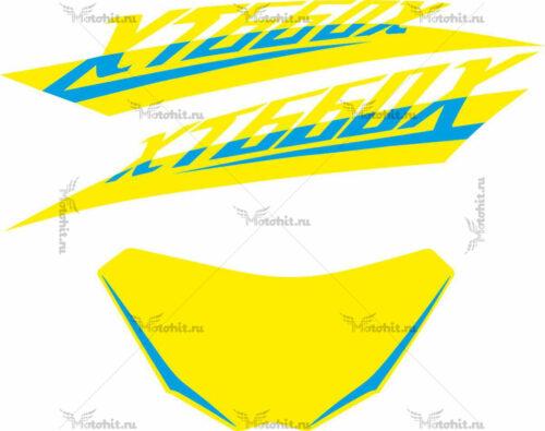 Комплект наклеек Yamaha XJ-600-X-FULL-FLUOR