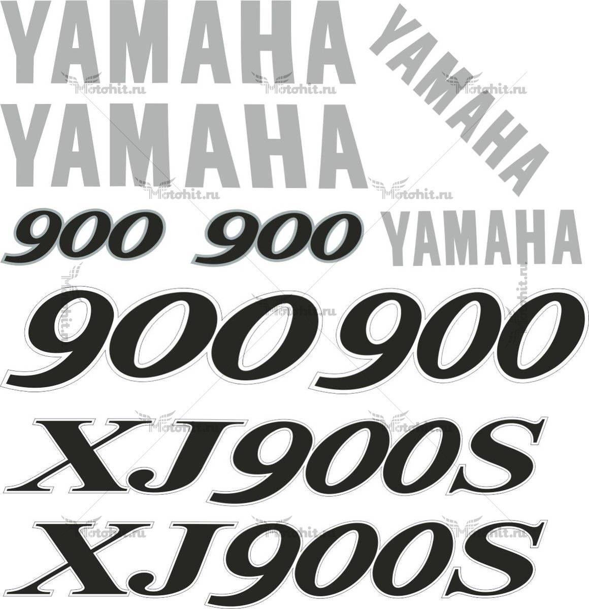 Комплект наклеек Yamaha XJ-900