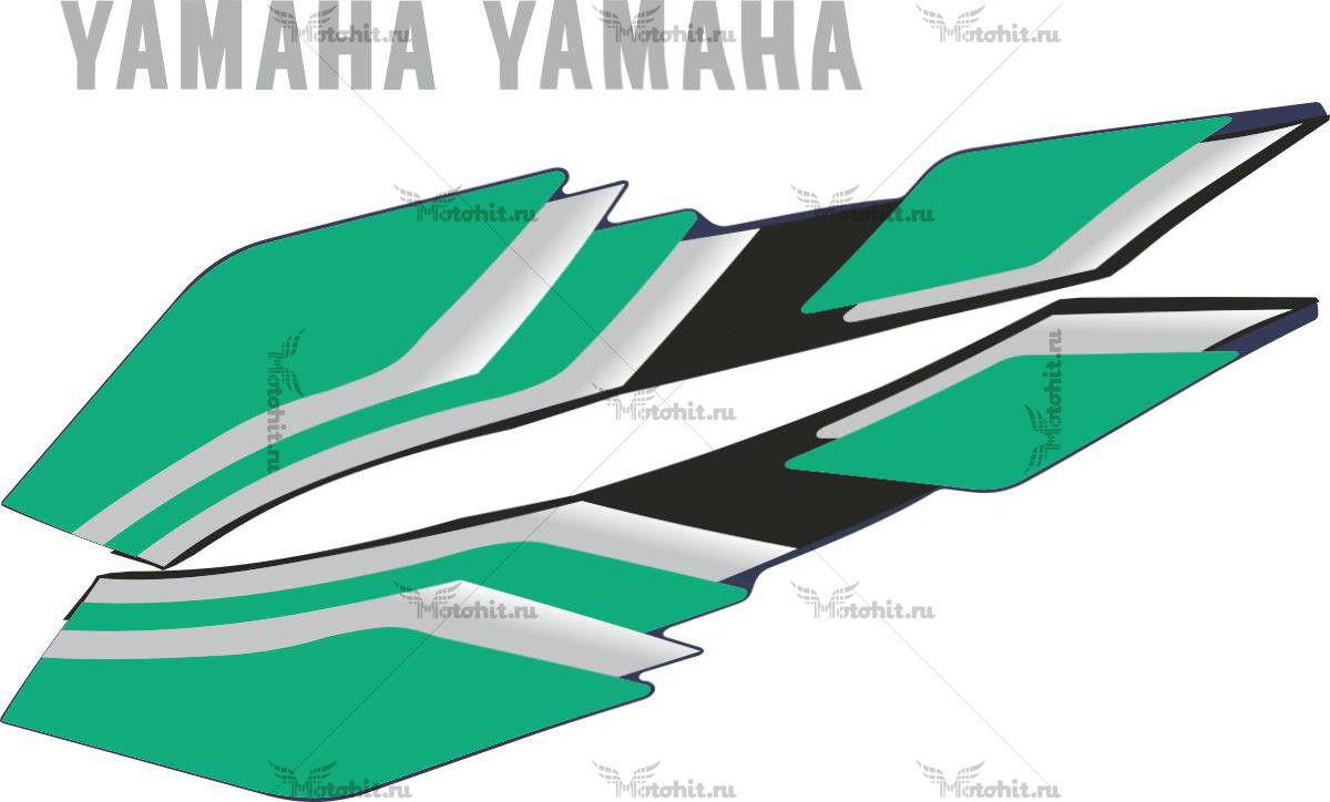 Комплект наклеек Yamaha XJR