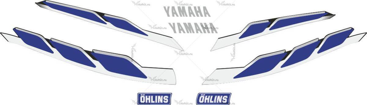 Комплект наклеек Yamaha XJR-1300 2000