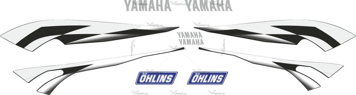 Комплект наклеек Yamaha XJR-1300 2002