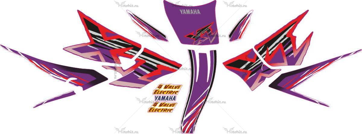 Комплект наклеек Yamaha XT-600 1997