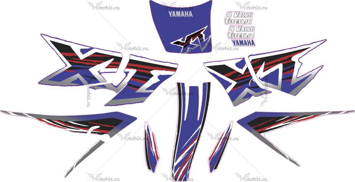 Комплект наклеек Yamaha XT-600 1998