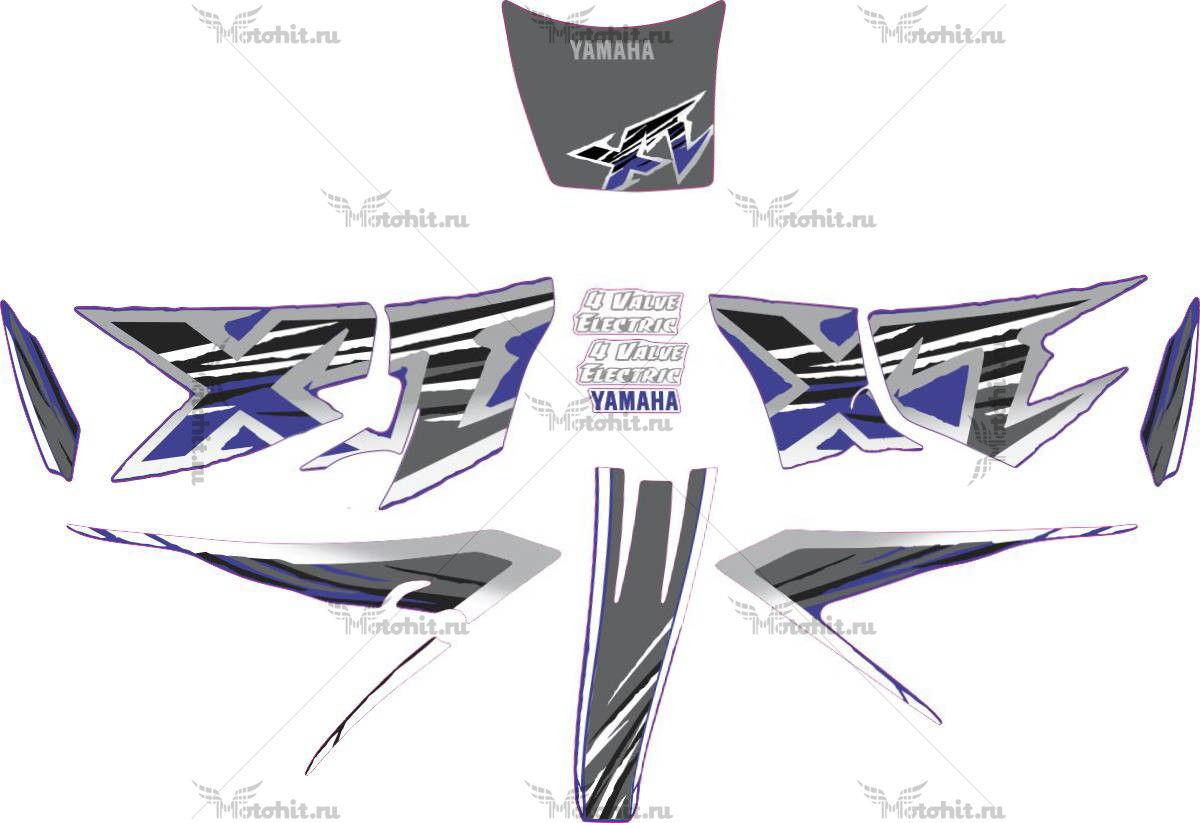 Комплект наклеек Yamaha XT-600 1999