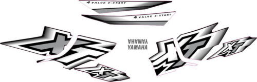 Комплект наклеек Yamaha XT-600 2000-2002