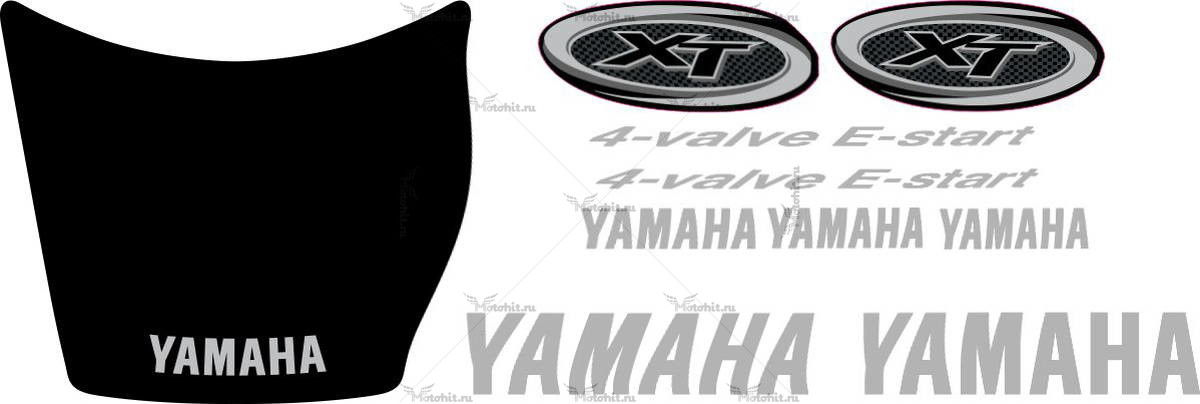 Комплект наклеек Yamaha XT-600 2003-2004