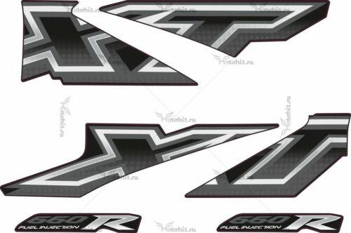 Комплект наклеек Yamaha XT-660-X 2005-2006
