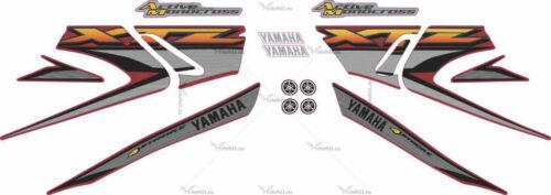 Комплект наклеек Yamaha XTZ-125 2004