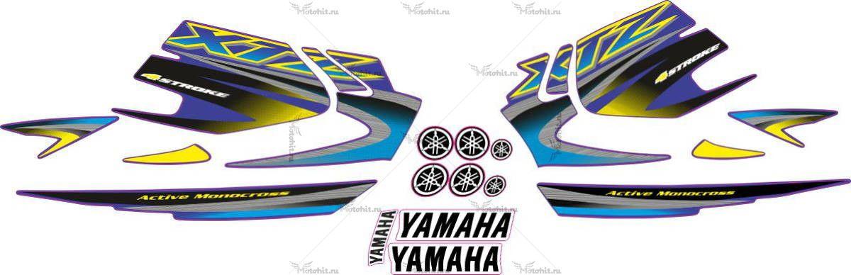 Комплект наклеек Yamaha XTZ-125 2005
