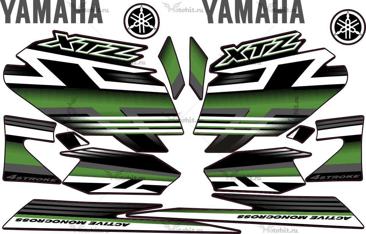 Комплект наклеек Yamaha XTZ-125 2009