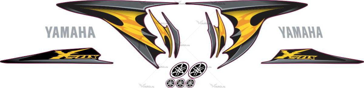 Комплект наклеек Yamaha XTZ-250 2009