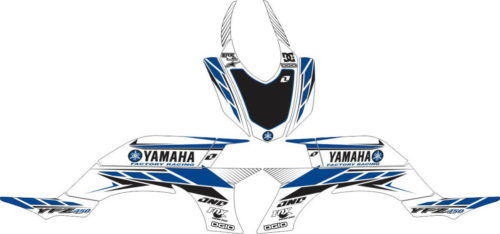 Комплект наклеек Yamaha YFZ-450 CLASSIC-WHITE