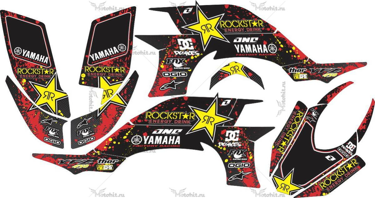 Комплект наклеек Yamaha YFZ-450-R 2003-2008