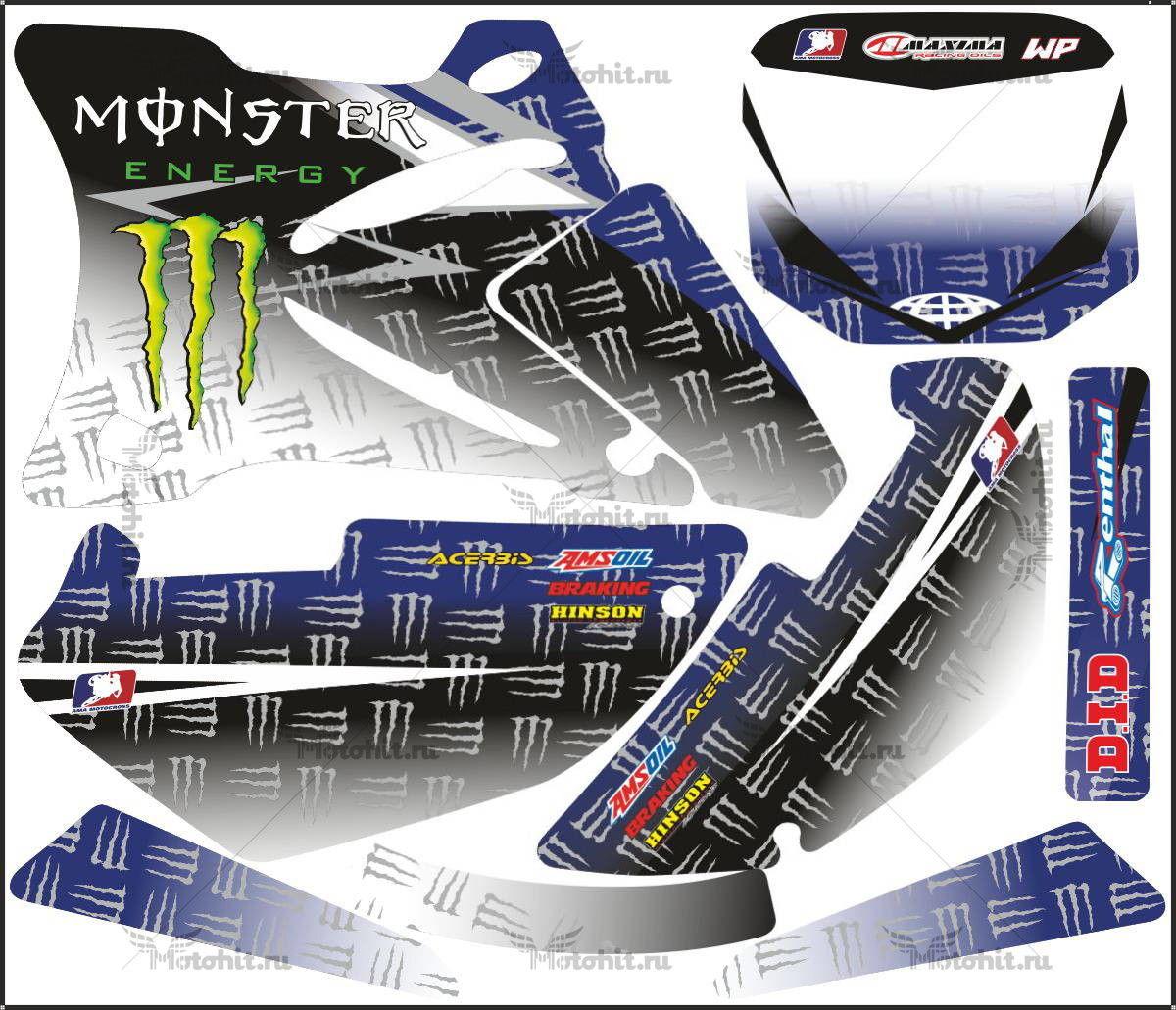 Комплект наклеек Yamaha YZ-85 2002-2013