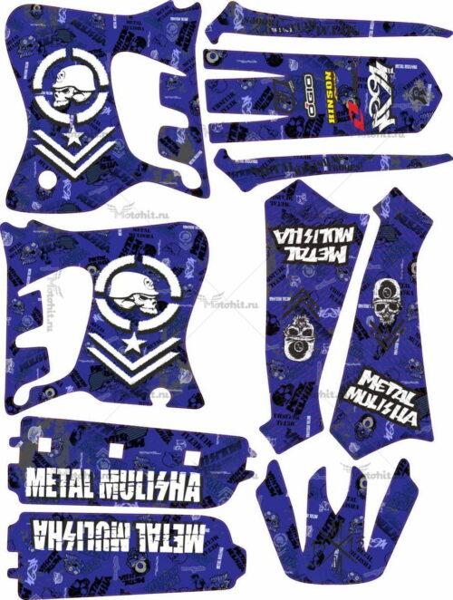 Комплект наклеек Yamaha YZ-125 YZ-250 1993 MM-AZ