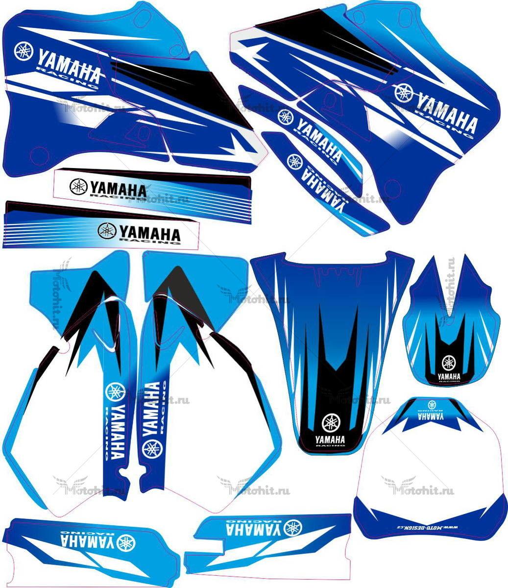 Комплект наклеек Yamaha YZ-125 YZ-250 2001