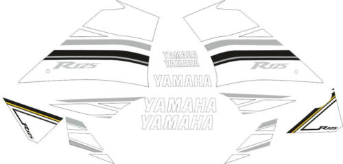 Комплект наклеек Yamaha YZF-125-R 2009