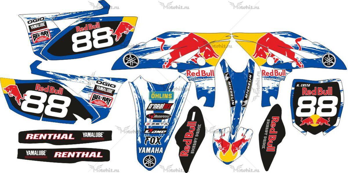 Комплект наклеек Yamaha YZF-250 2011