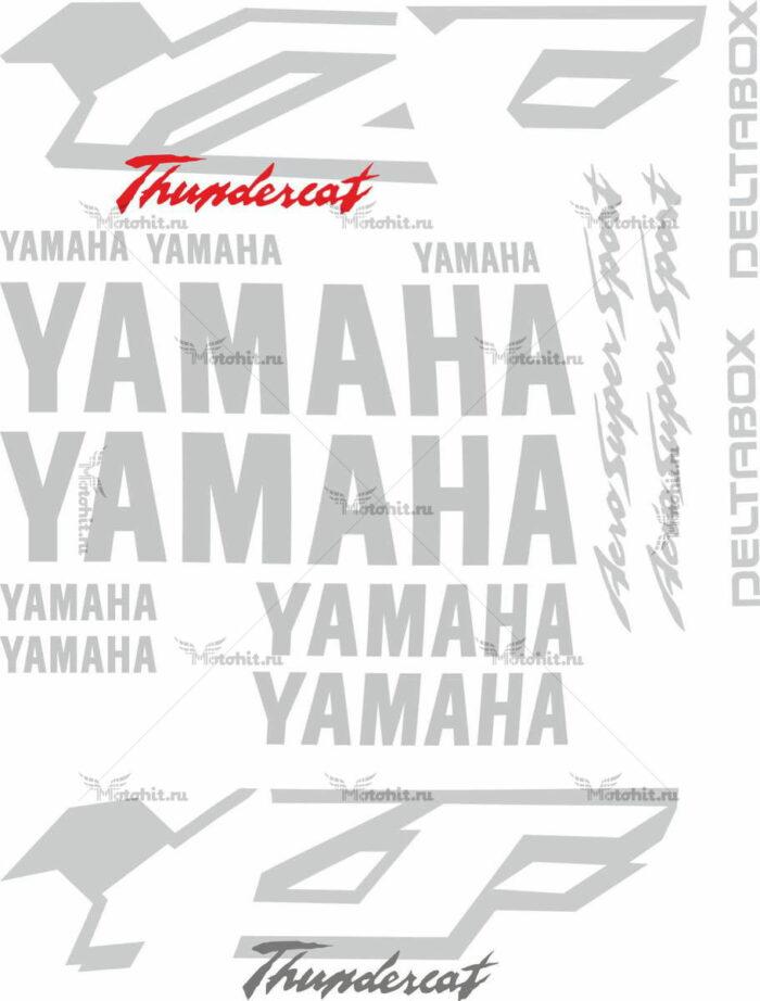 Комплект наклеек Yamaha YZF-600-R 1998-2001 THUNDERCAT
