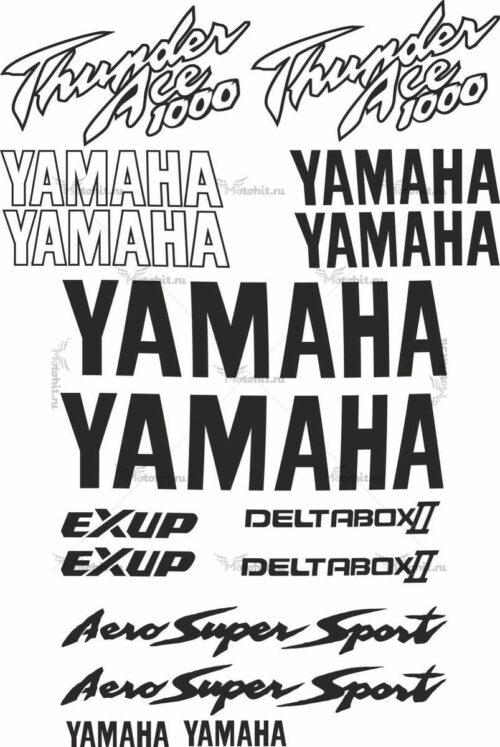 Комплект наклеек Yamaha YZF-1000 1996-2003 THUNDERACE-PROMO
