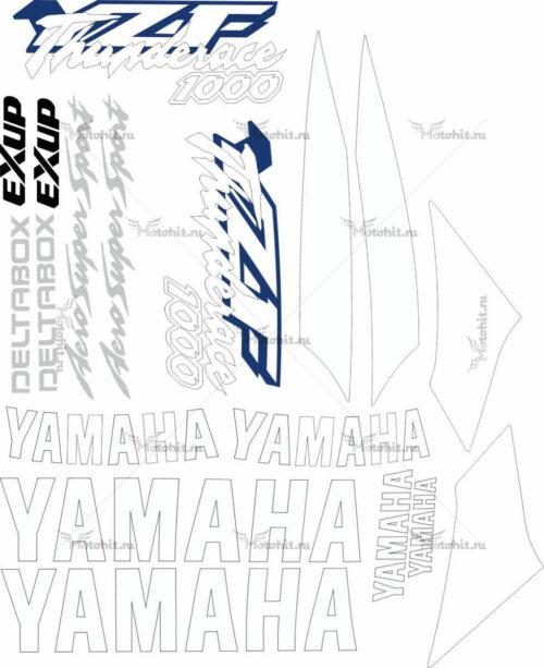 Комплект наклеек Yamaha YZF-1000-R 1996-2001 THUNDERACE
