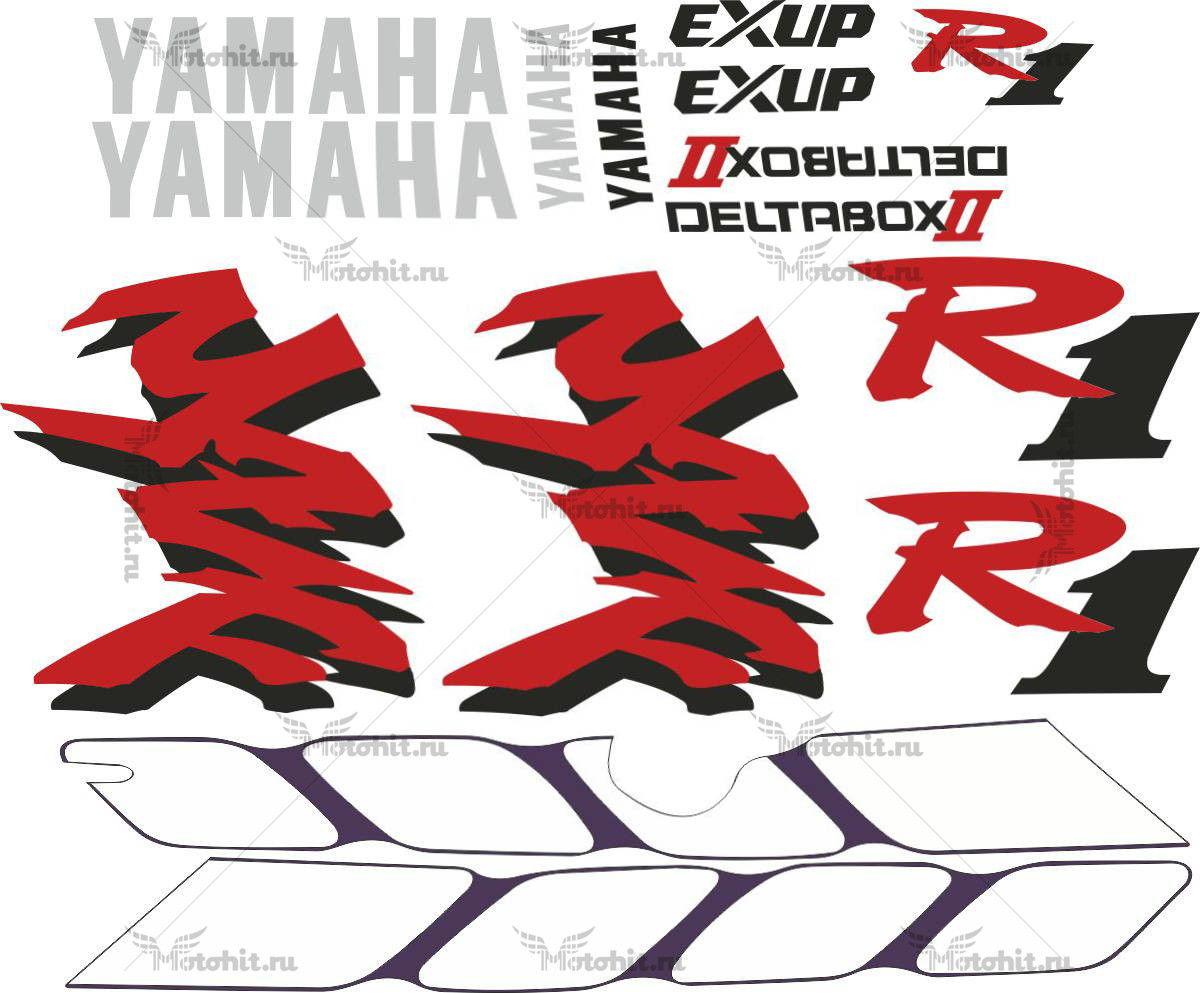Комплект наклеек Yamaha YZF-R1 1998