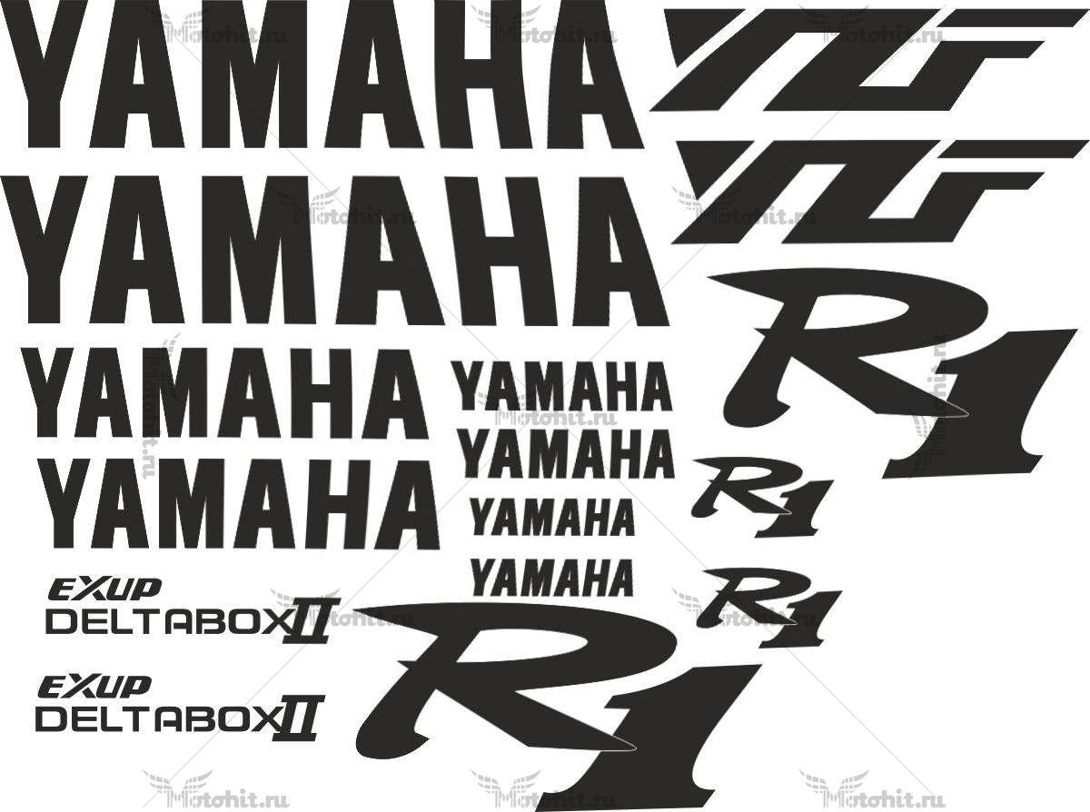 Комплект наклеек Yamaha YZF-R1 1998 GRAFFITI