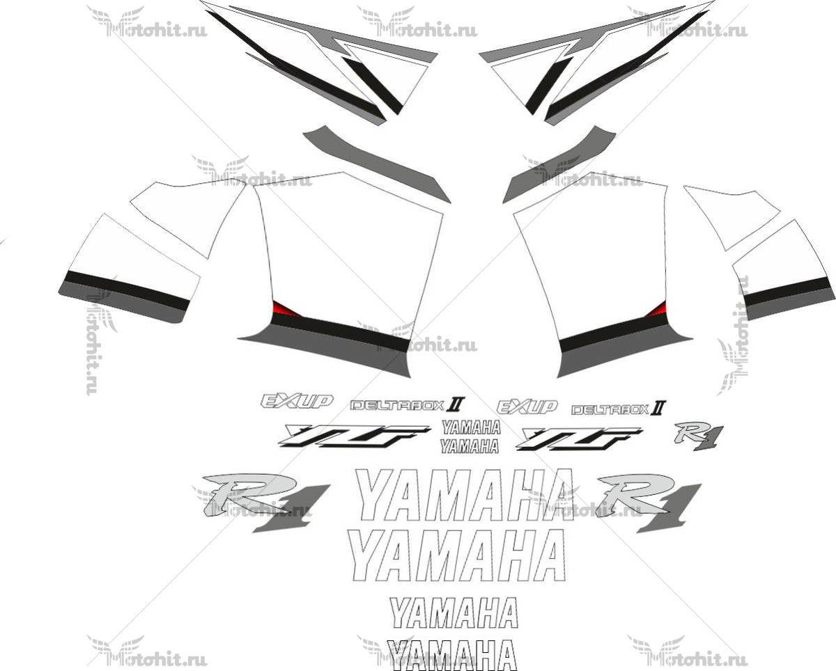 Комплект наклеек Yamaha YZF-R1 2001