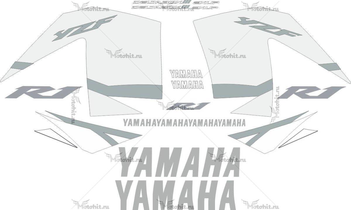 Комплект наклеек Yamaha YZF-R1 2002 SIDES