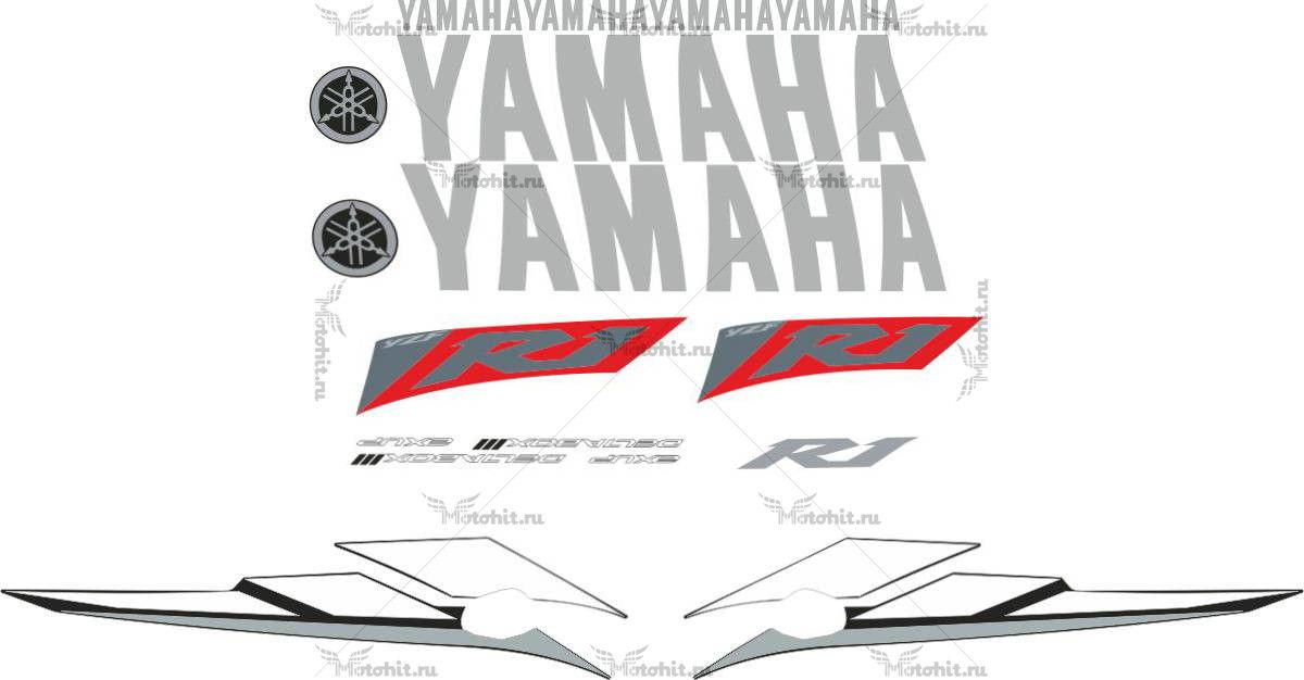 Комплект наклеек Yamaha YZF-R1 2003