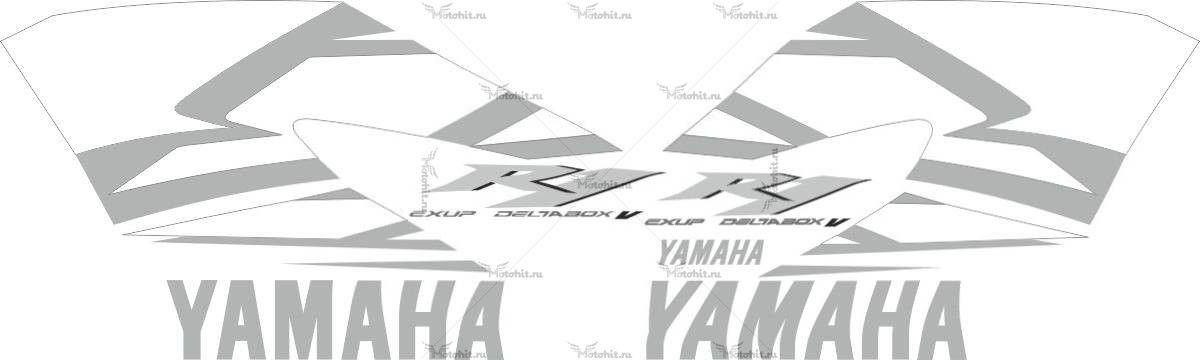Комплект наклеек Yamaha YZF-R1 2004 BLUE