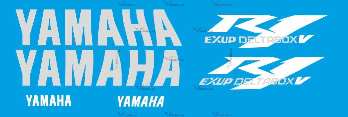 Комплект наклеек Yamaha YZF-R1 2004 TXT-MINI