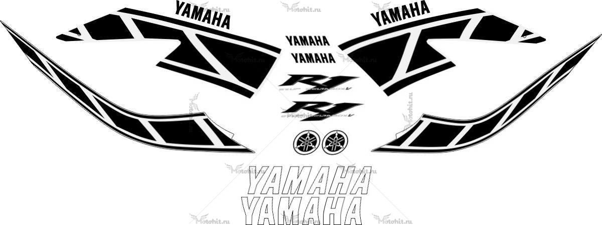 Комплект наклеек Yamaha YZF-R1 2006 ANIVERSARY