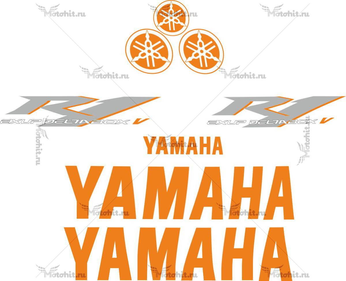 Комплект наклеек Yamaha YZF-R1 2006 TXT