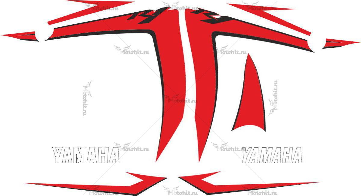 Комплект наклеек Yamaha YZF-R1 2007 WHITE
