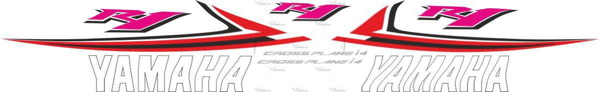Комплект наклеек Yamaha YZF-R1 2009-2010 USA