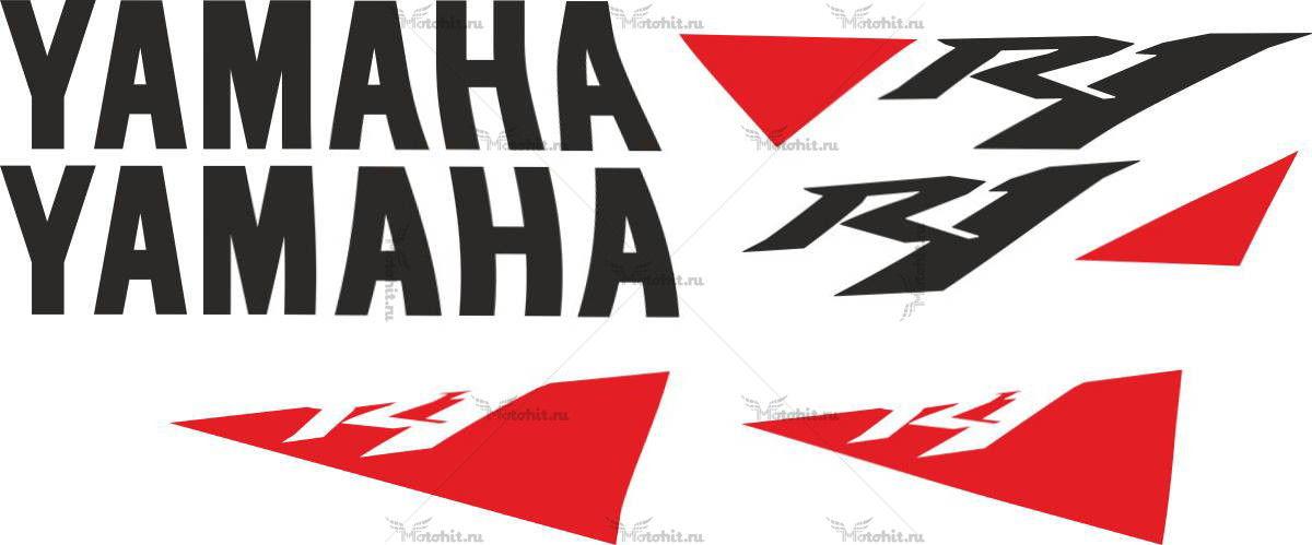 Комплект наклеек Yamaha YZF-R1 2010