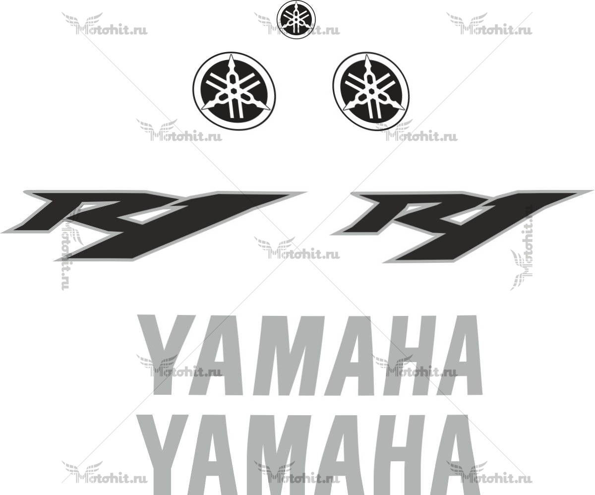 Комплект наклеек Yamaha YZF-R1 2012 TXT