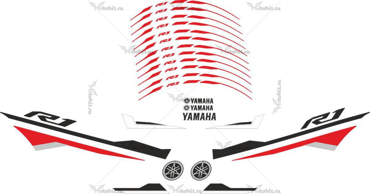 Комплект наклеек Yamaha YZF-R1 2015