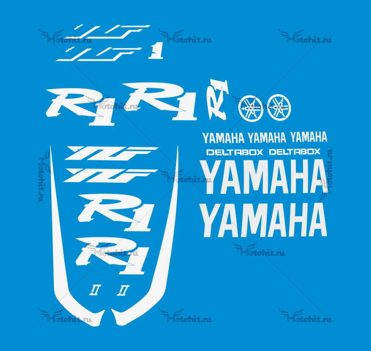 Комплект наклеек Yamaha YZF-R1 KIT