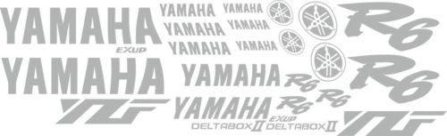 Комплект наклеек Yamaha YZF-R6 2003 23-STICKER
