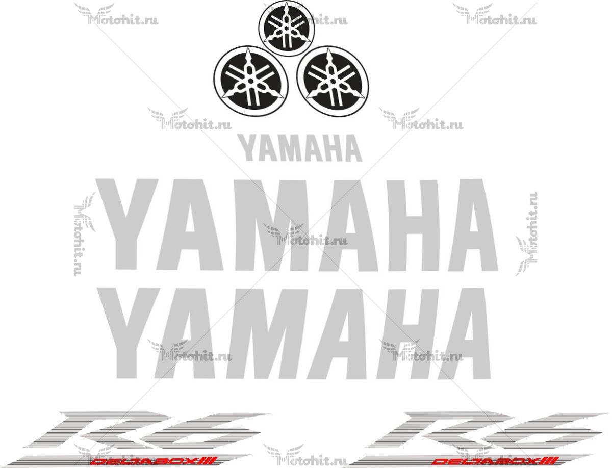 Комплект наклеек Yamaha YZF-R6 2005 TXT