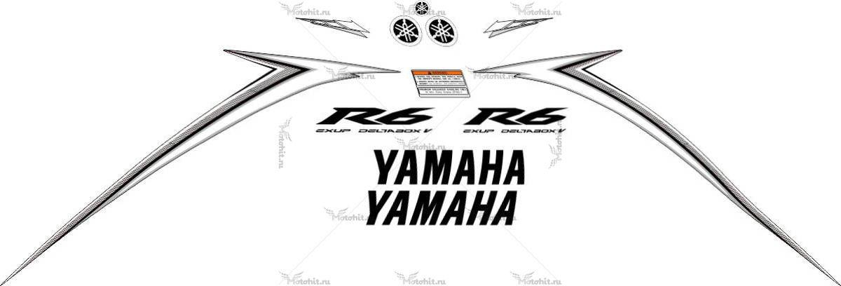 Комплект наклеек Yamaha YZF-R6 2010